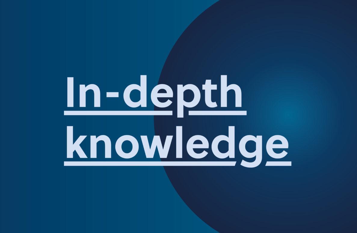 Company values in-depth knowledge